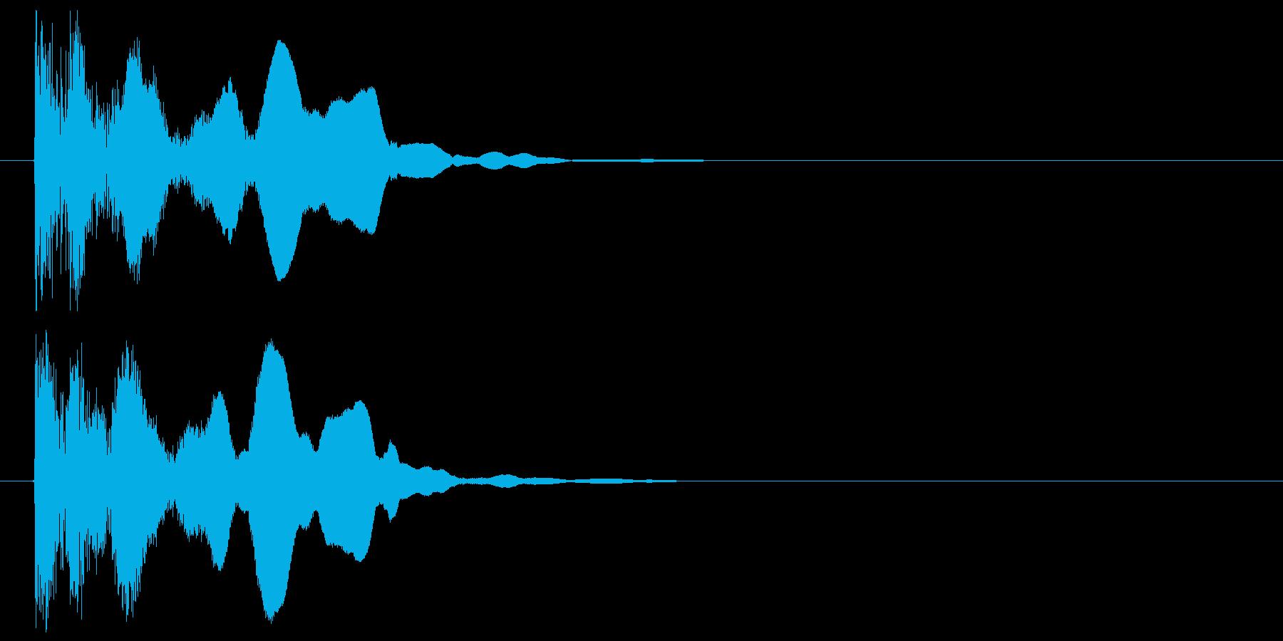 邦楽_テロップ表示の再生済みの波形