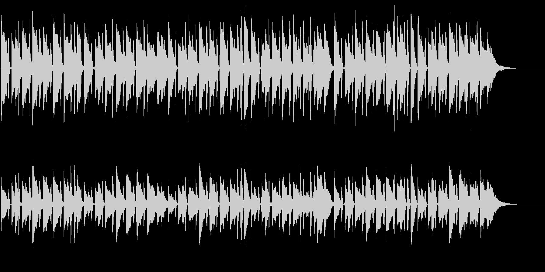 優しさで包むアコギとピアノのバラード xの未再生の波形