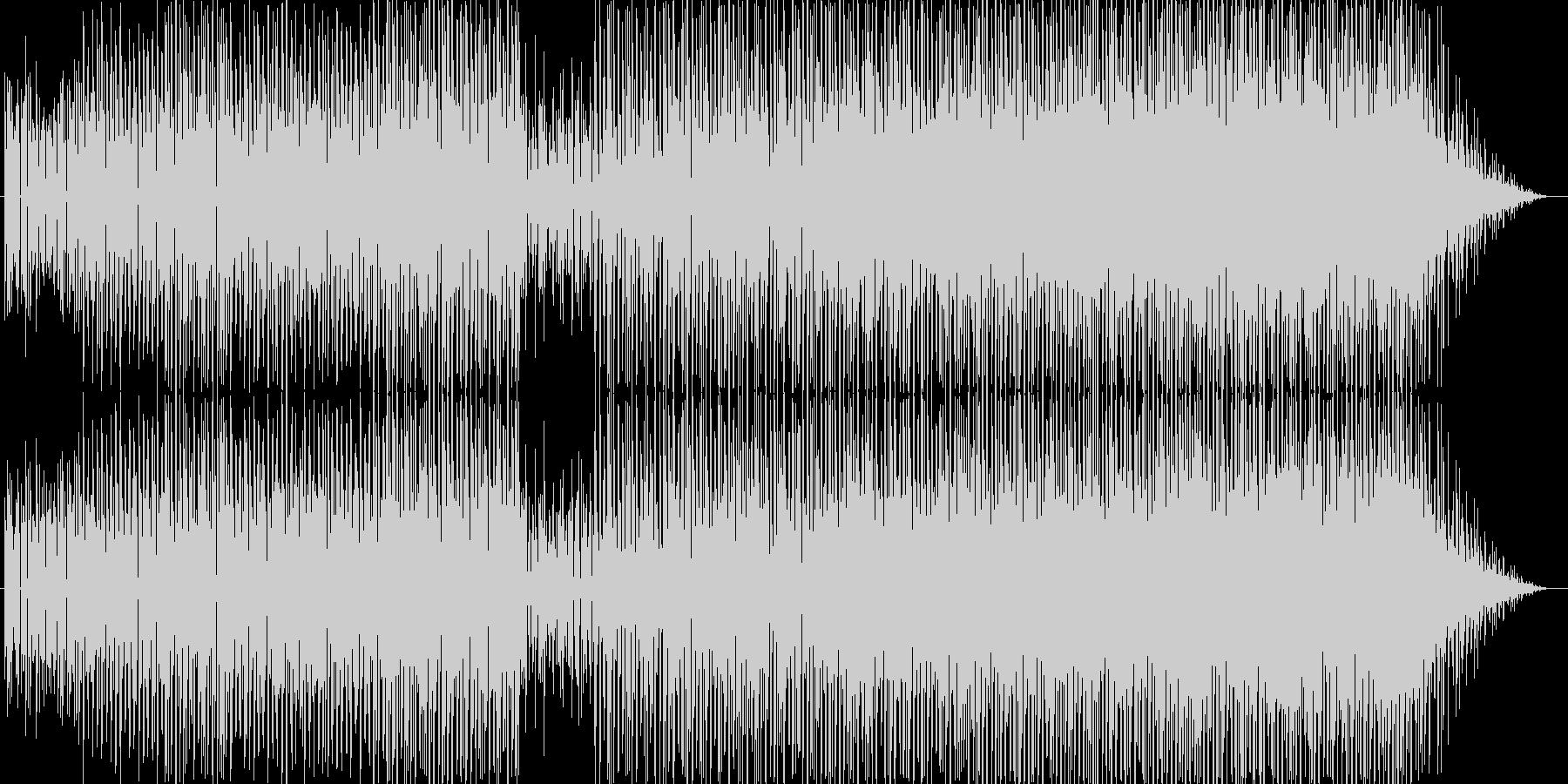ちょっとコミカルなエレクトロポップです。の未再生の波形