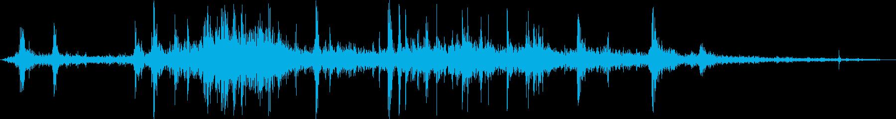 食べ物を食べる/かじる/噛む,効果音03の再生済みの波形