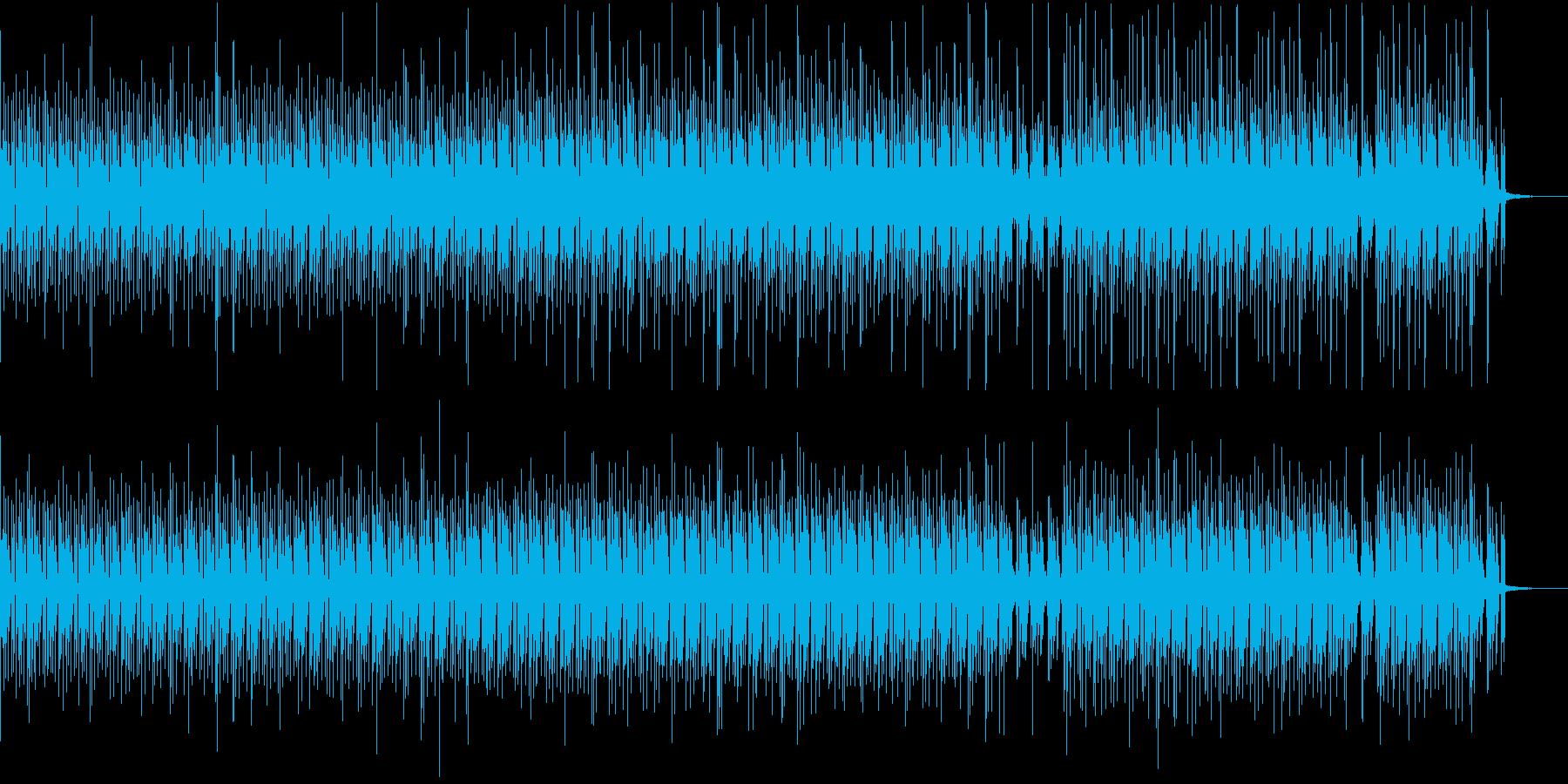 機械的な状況に合うハウスの再生済みの波形