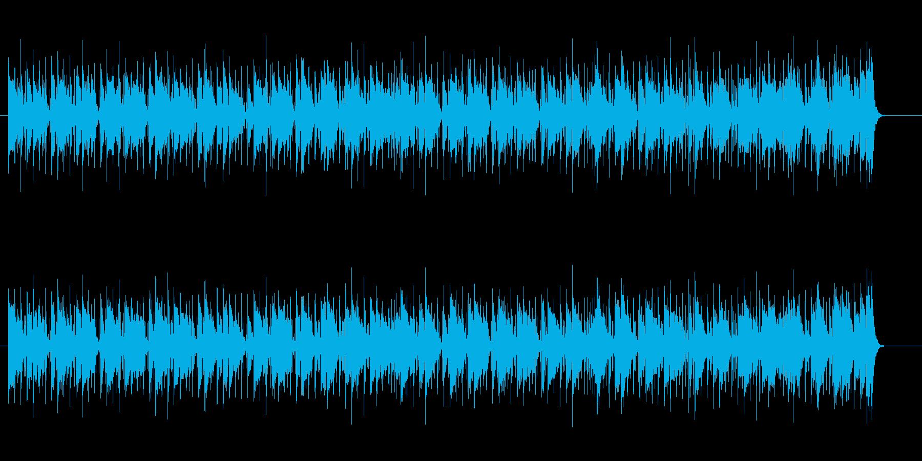 チョッパーがクールな都会派ブルースの再生済みの波形