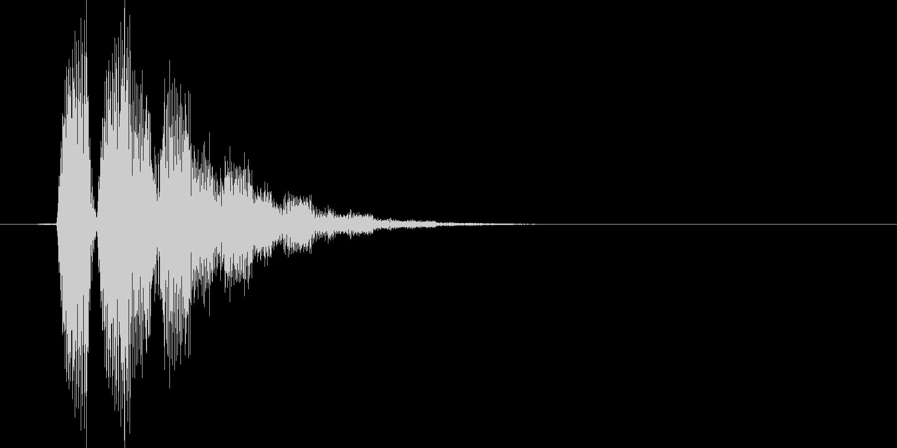 キラリッ(星、回復、アイテム使用)の未再生の波形