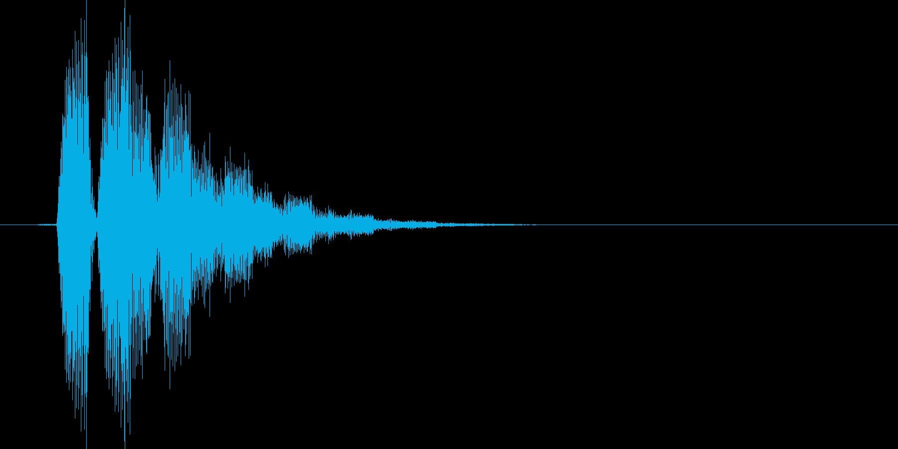 キラリッ(星、回復、アイテム使用)の再生済みの波形