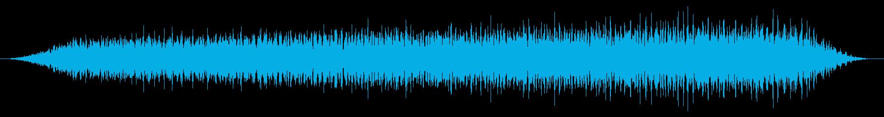 カエル/合唱/田んぼ(40秒Ver.)の再生済みの波形