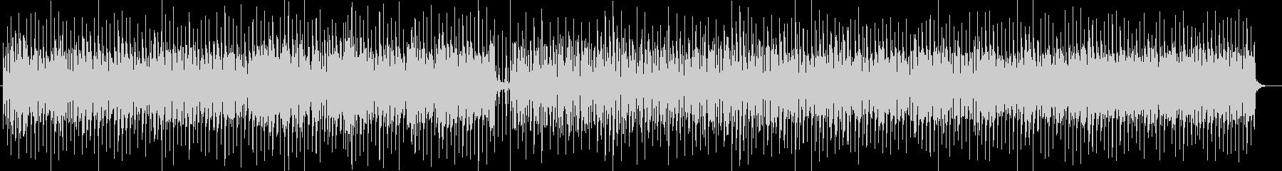 陽気なボサノヴァ調シンセサイザーサウンドの未再生の波形