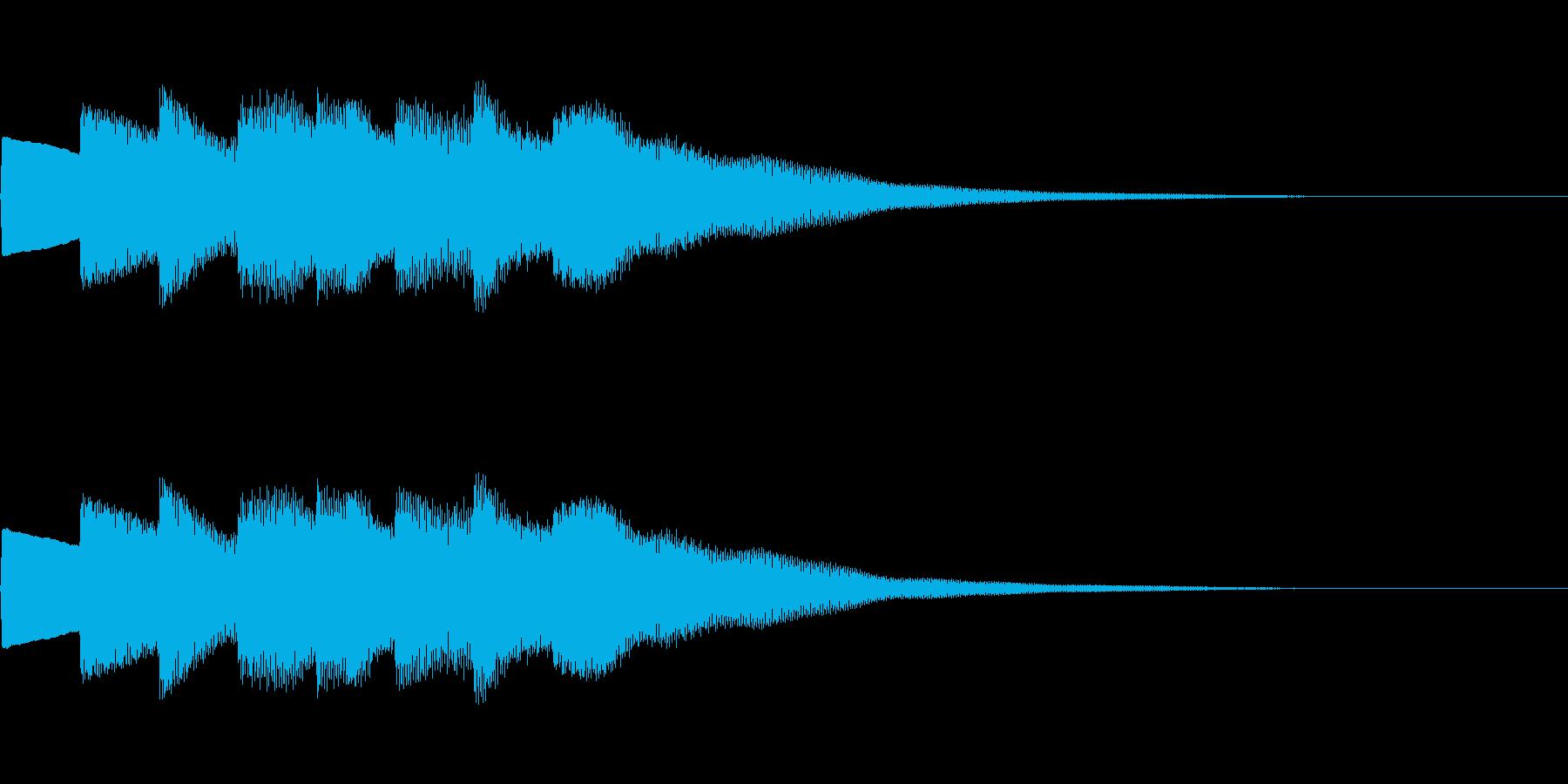 【正解01-4】の再生済みの波形