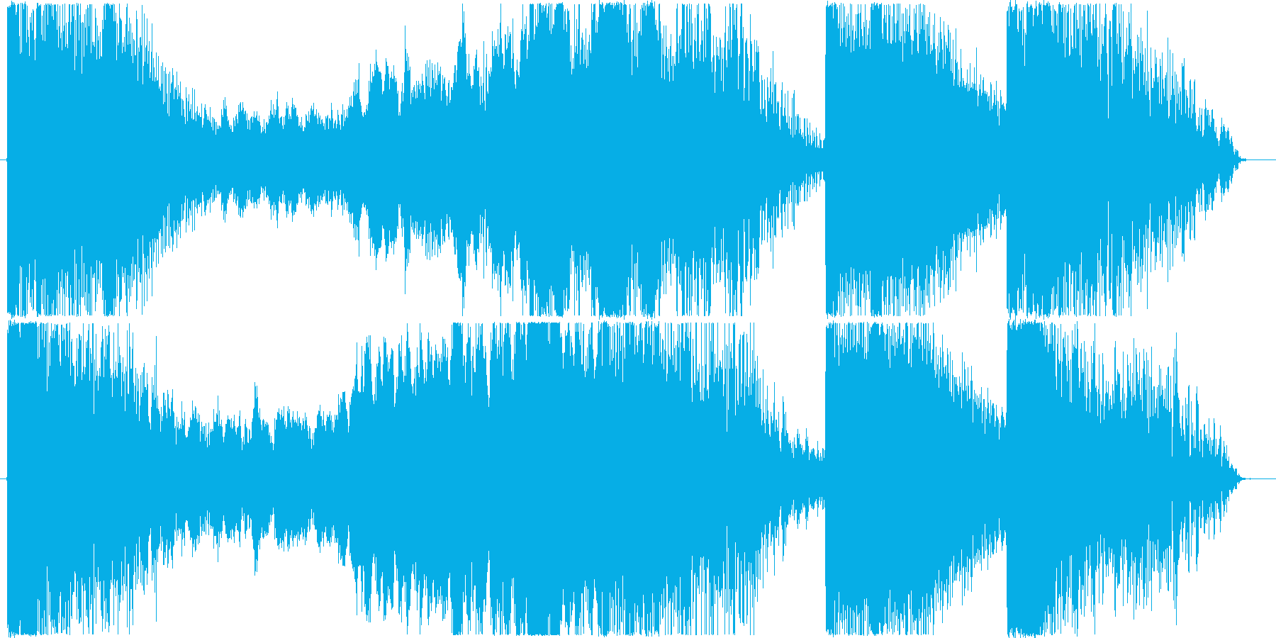 映画等, トレーラー / 29秒の再生済みの波形