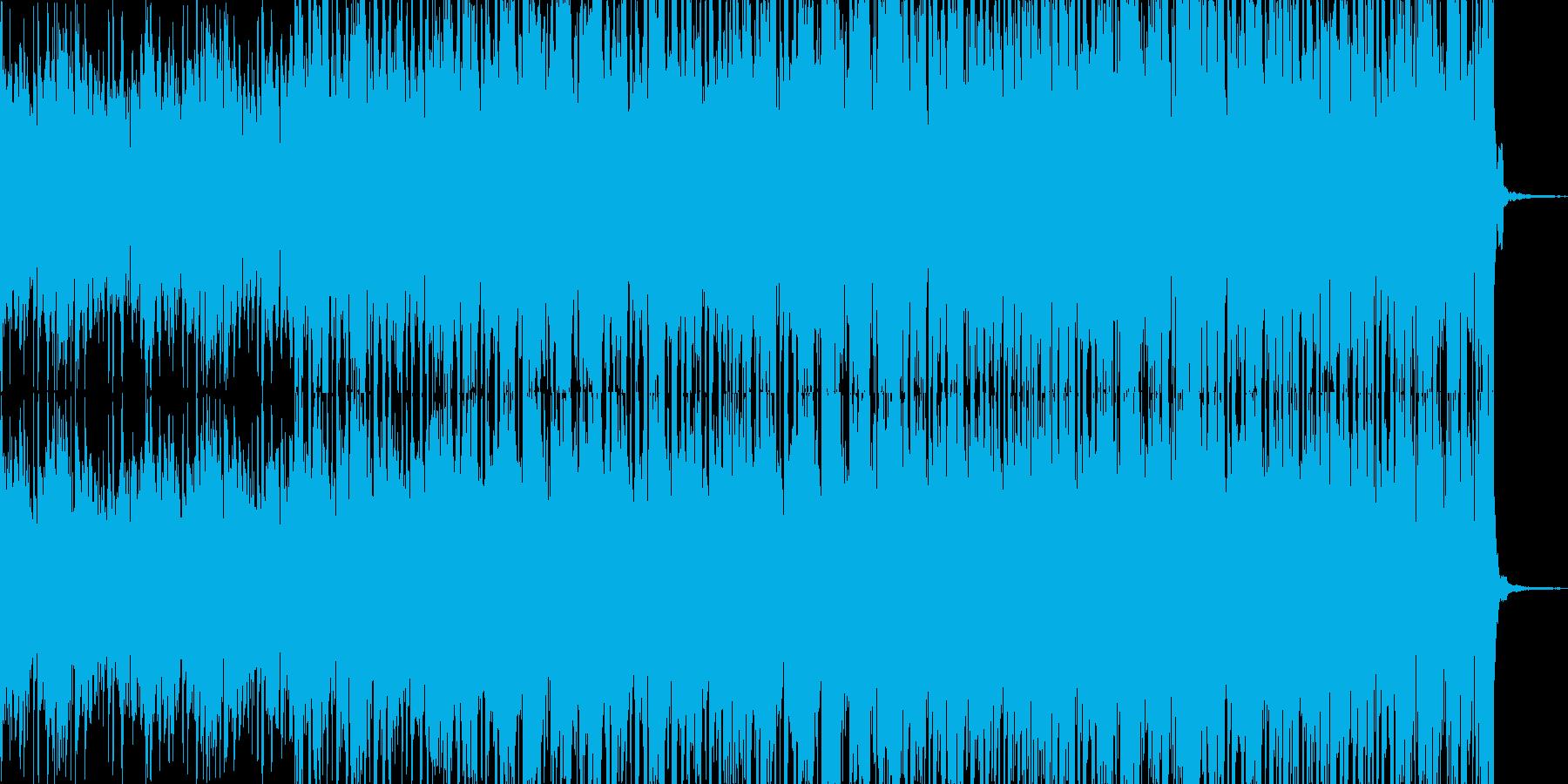 オープニング、CM、ジングル等のように…の再生済みの波形