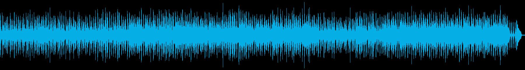 【メロディ・リズム・ベース抜き】軽快なアの再生済みの波形