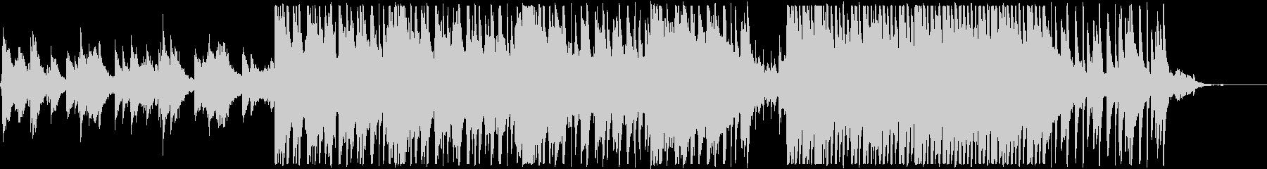 ピアノメインの新しい一日が始まる系BGMの未再生の波形