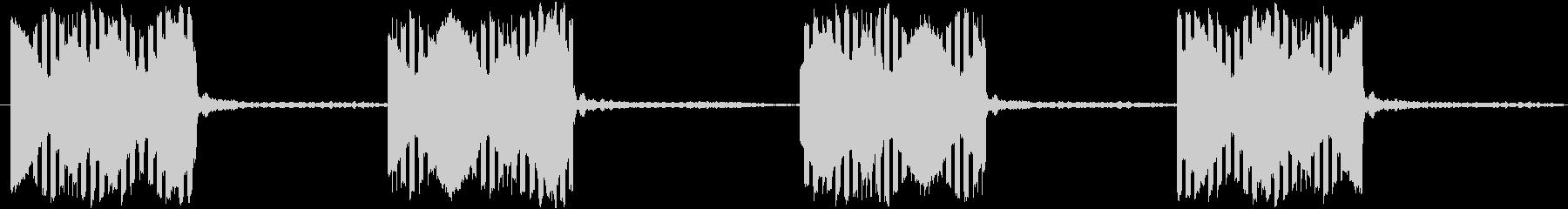電話の音(固定電話)【2】の未再生の波形