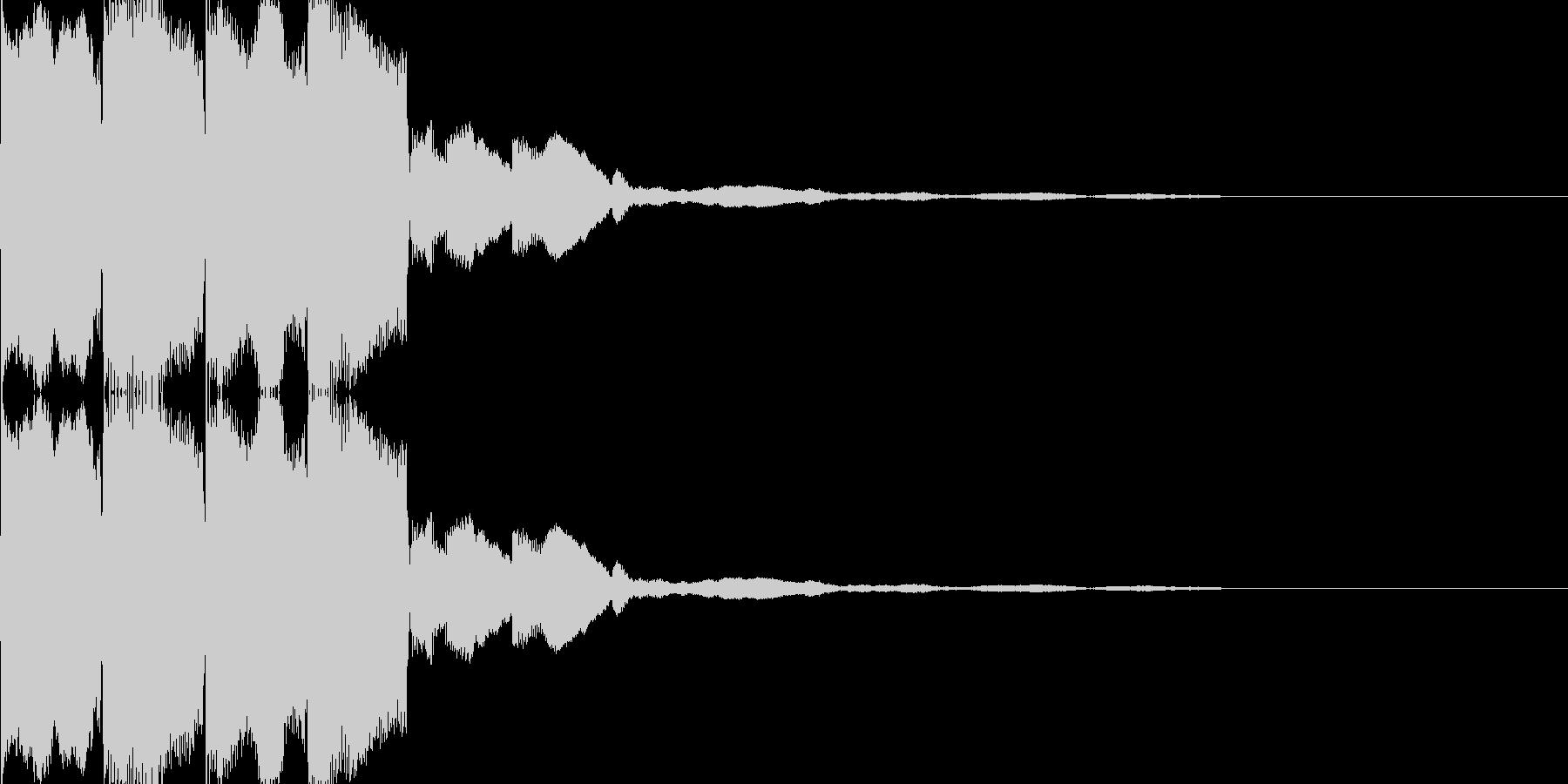 電子音(ピコピコ)の未再生の波形