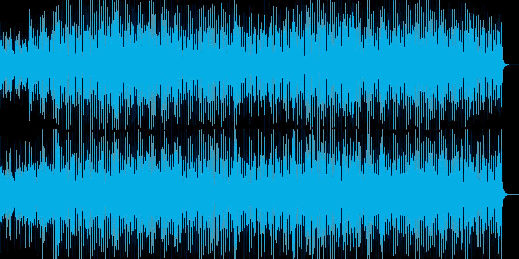 軽快なリズムと切ないリフが印象的なBGMの再生済みの波形
