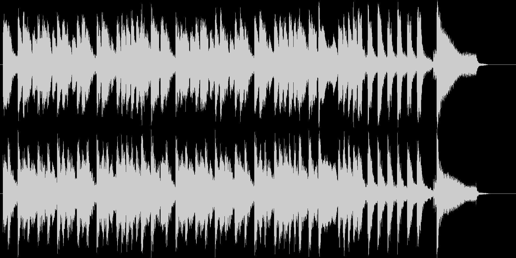 奇妙&コミカルなサウンド♪の未再生の波形
