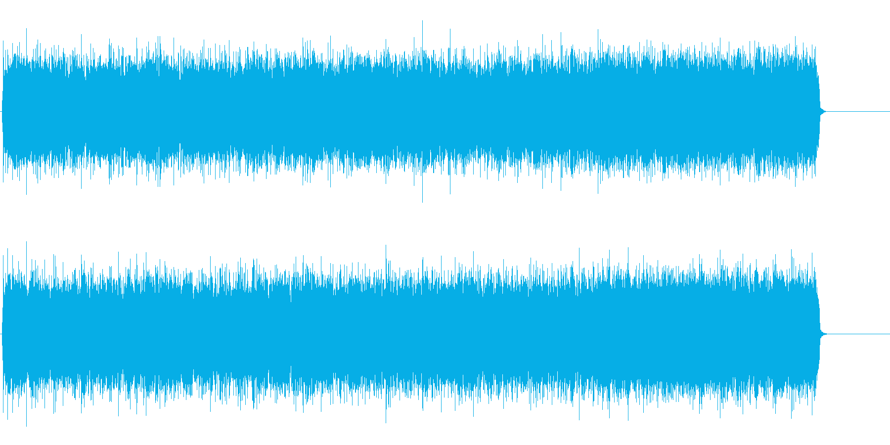 疾走するアメリカンロック(イントロ~…)の再生済みの波形