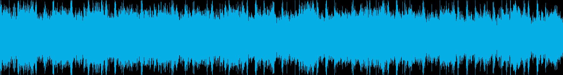 ドキュメンタリーやさしい曲1 ドラムありの再生済みの波形