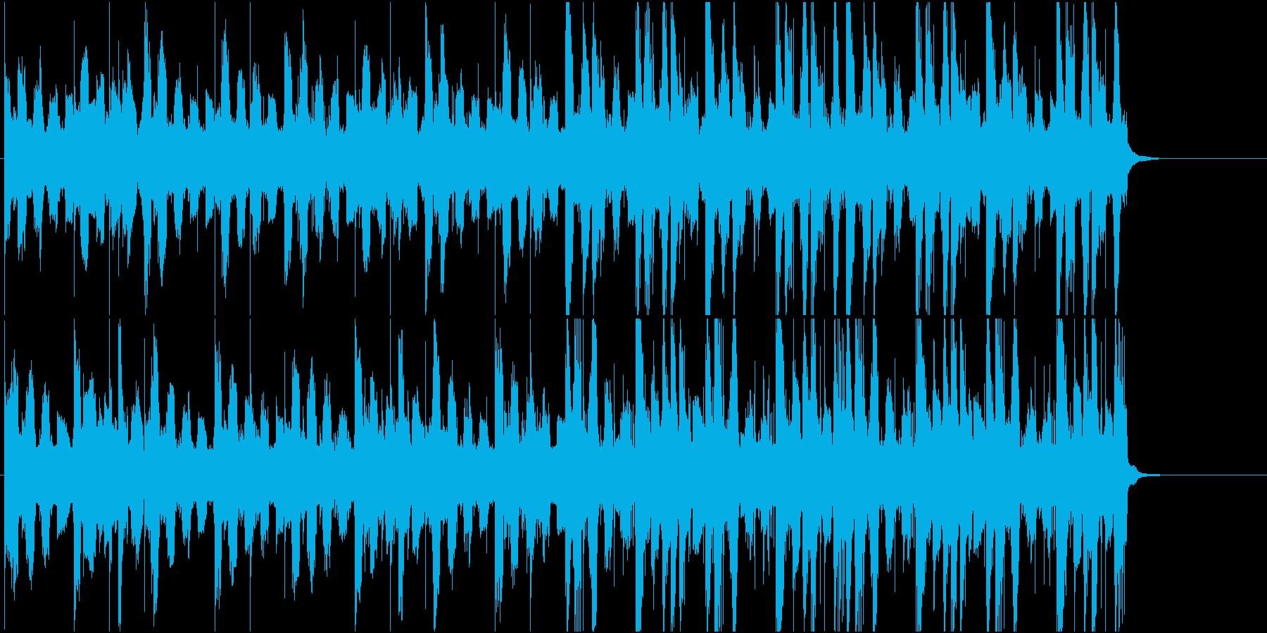 ローズピアノとfoley /映像イメージの再生済みの波形
