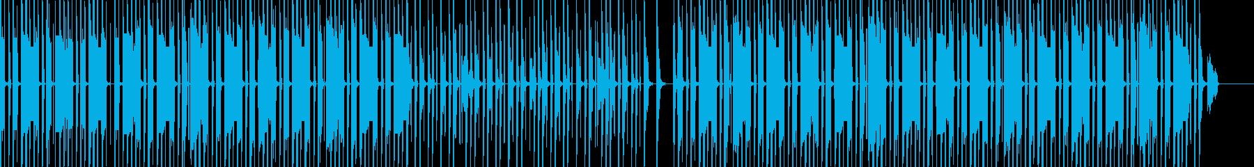 アニメ/アプリで使用なBGMの再生済みの波形
