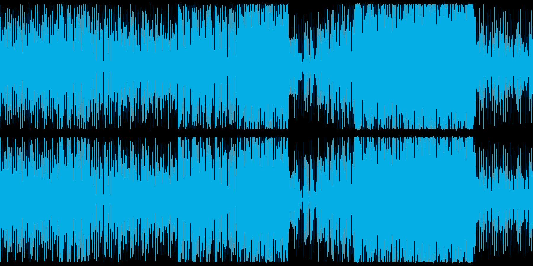 【ループ仕様】民族っぽい感じのバトル曲の再生済みの波形