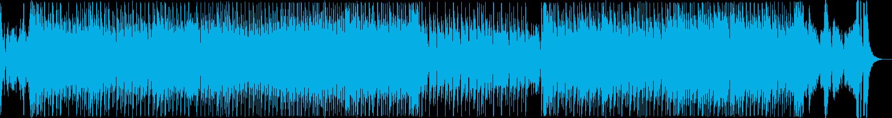 ハッピーな気分になるキュートテクノポップの再生済みの波形