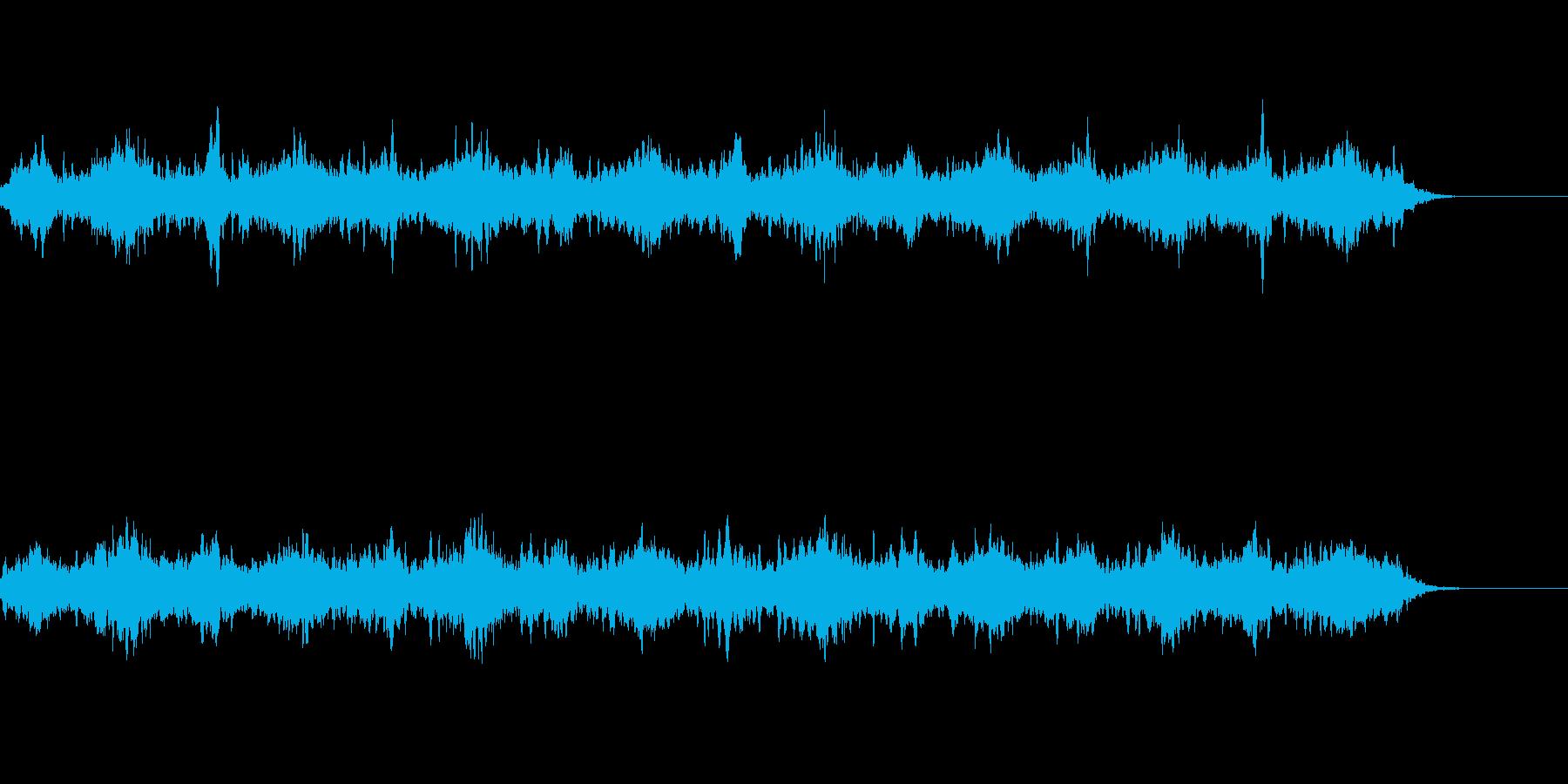 静かな雰囲気のアンビエントの再生済みの波形