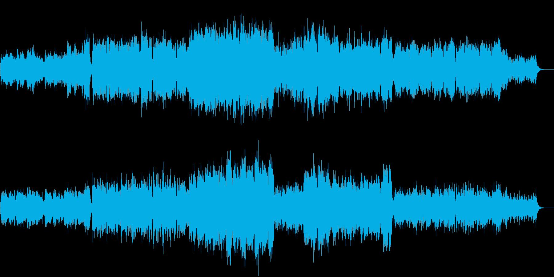 ファンタジーRPG 壮大なエンディングの再生済みの波形