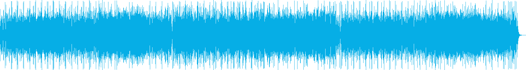 はじけるシンセ・ギターサウンドの再生済みの波形