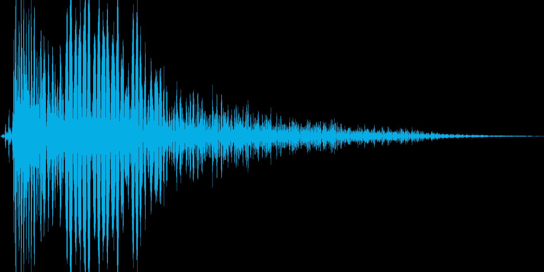ブワッ(衝撃系の出現音等の再生済みの波形