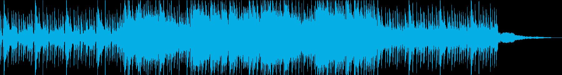 短いchilloutスローシンセポップ系の再生済みの波形
