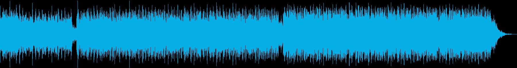 戦闘曲「善戦」1分BGMの再生済みの波形