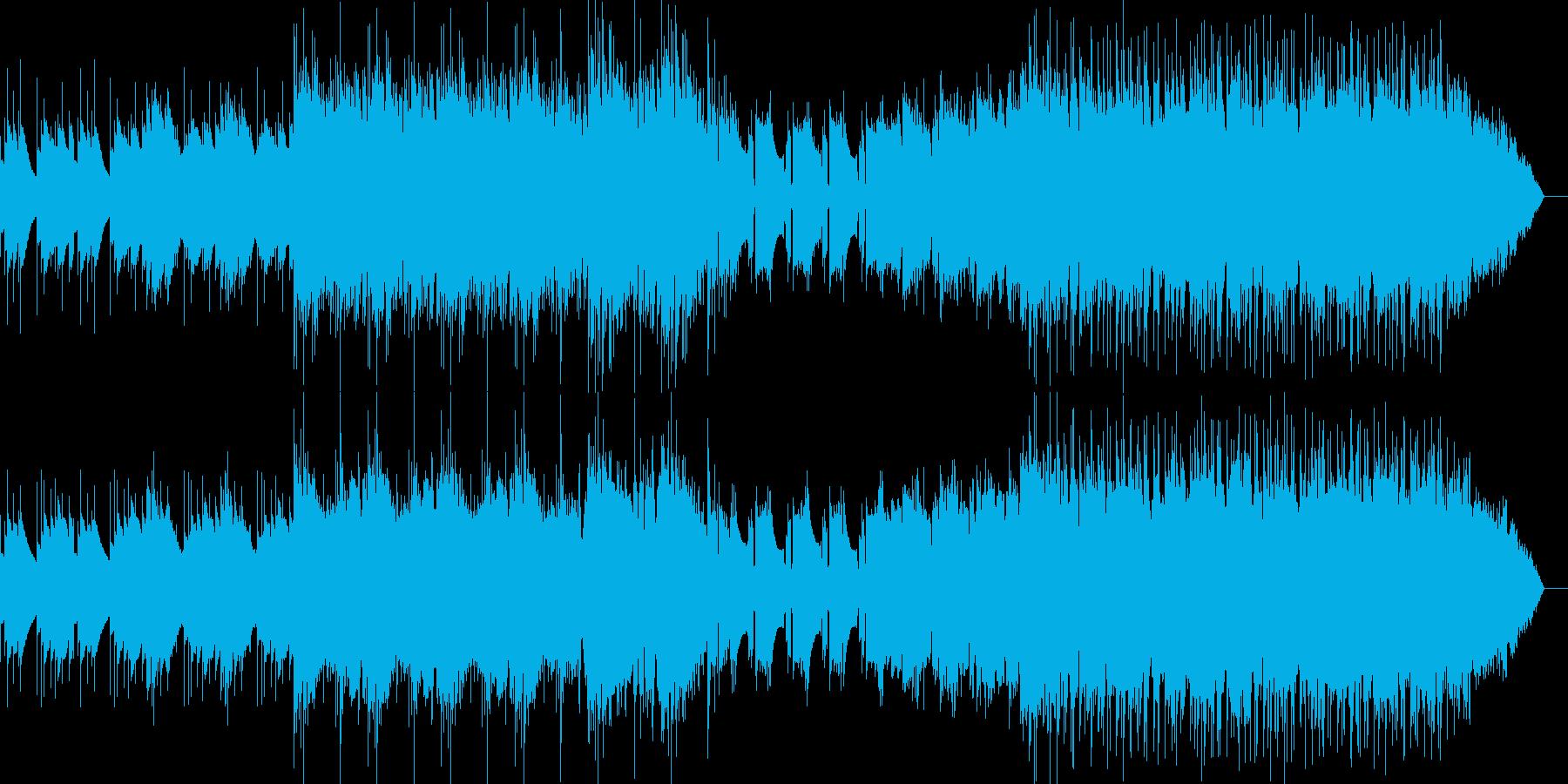 シンプル短めなアンビエントチルの再生済みの波形