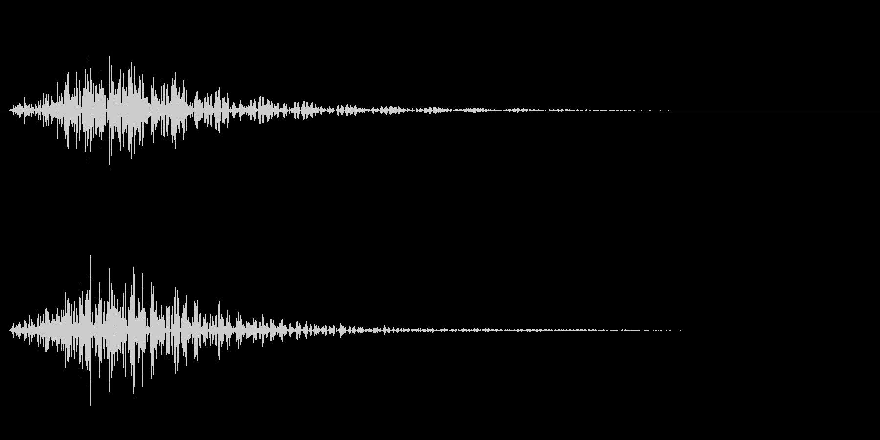 バイオリン キャンセル音などの未再生の波形