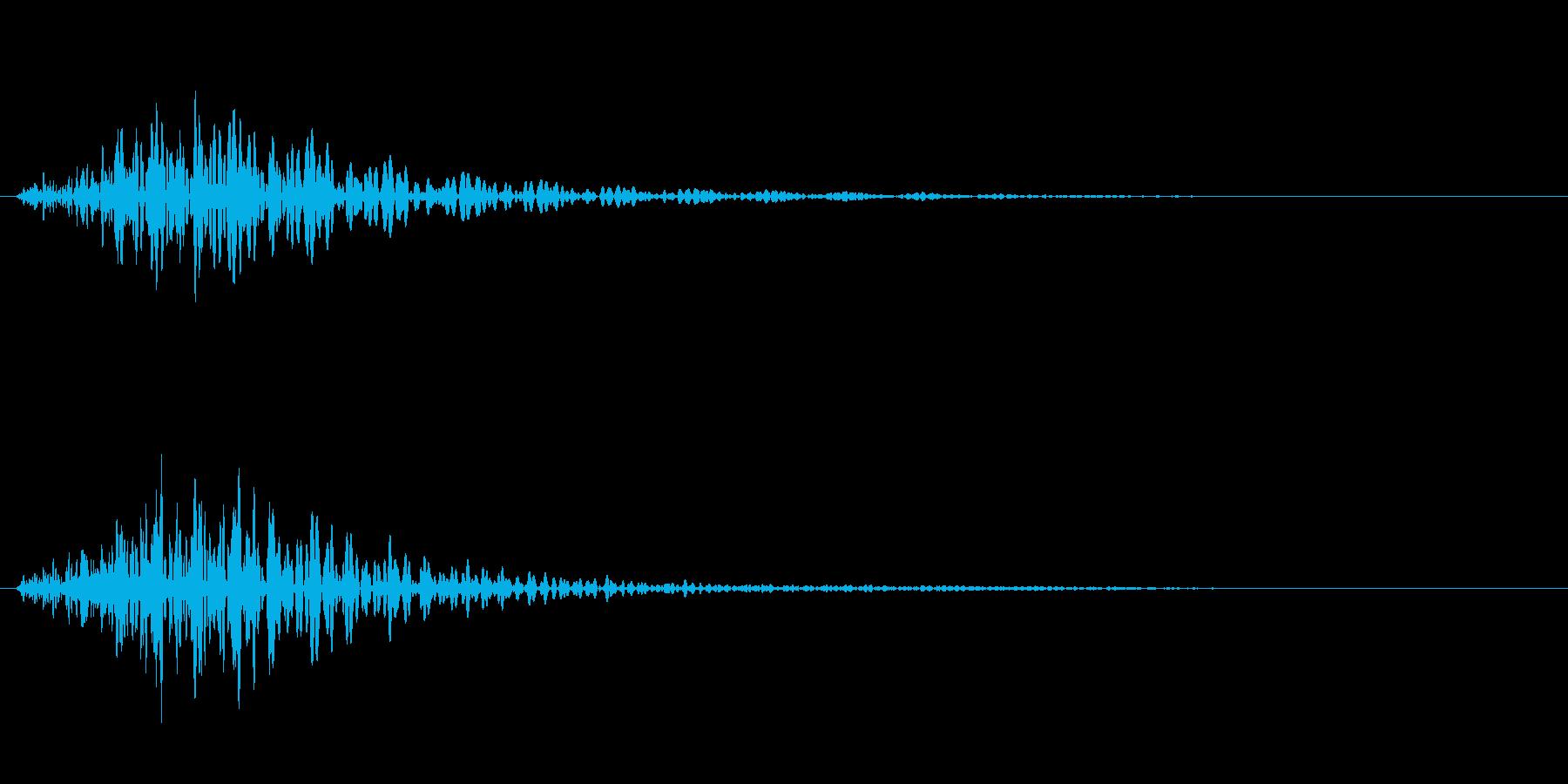 バイオリン キャンセル音などの再生済みの波形