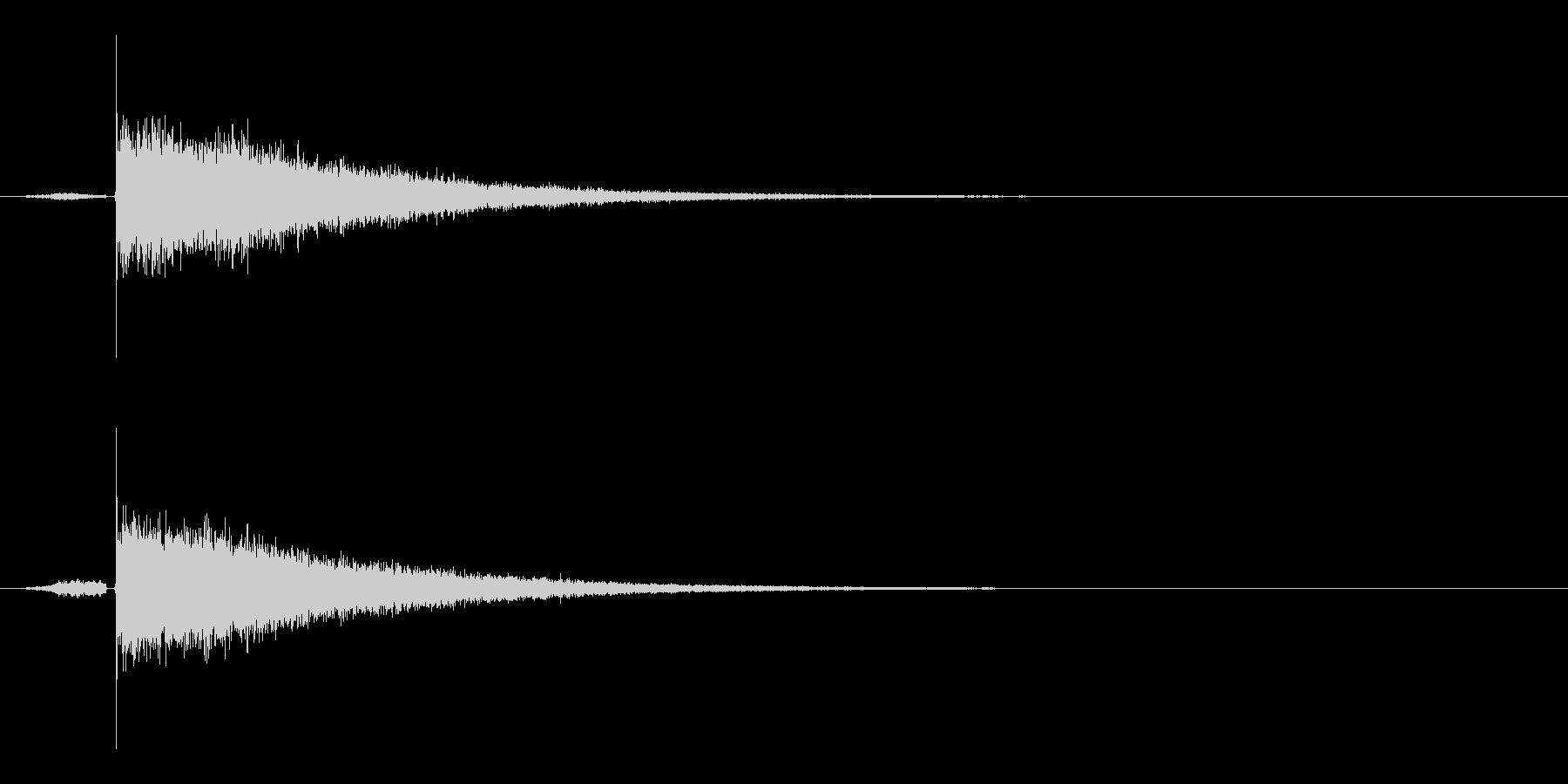 目がさめる感じの明るいサウンドロゴ の未再生の波形