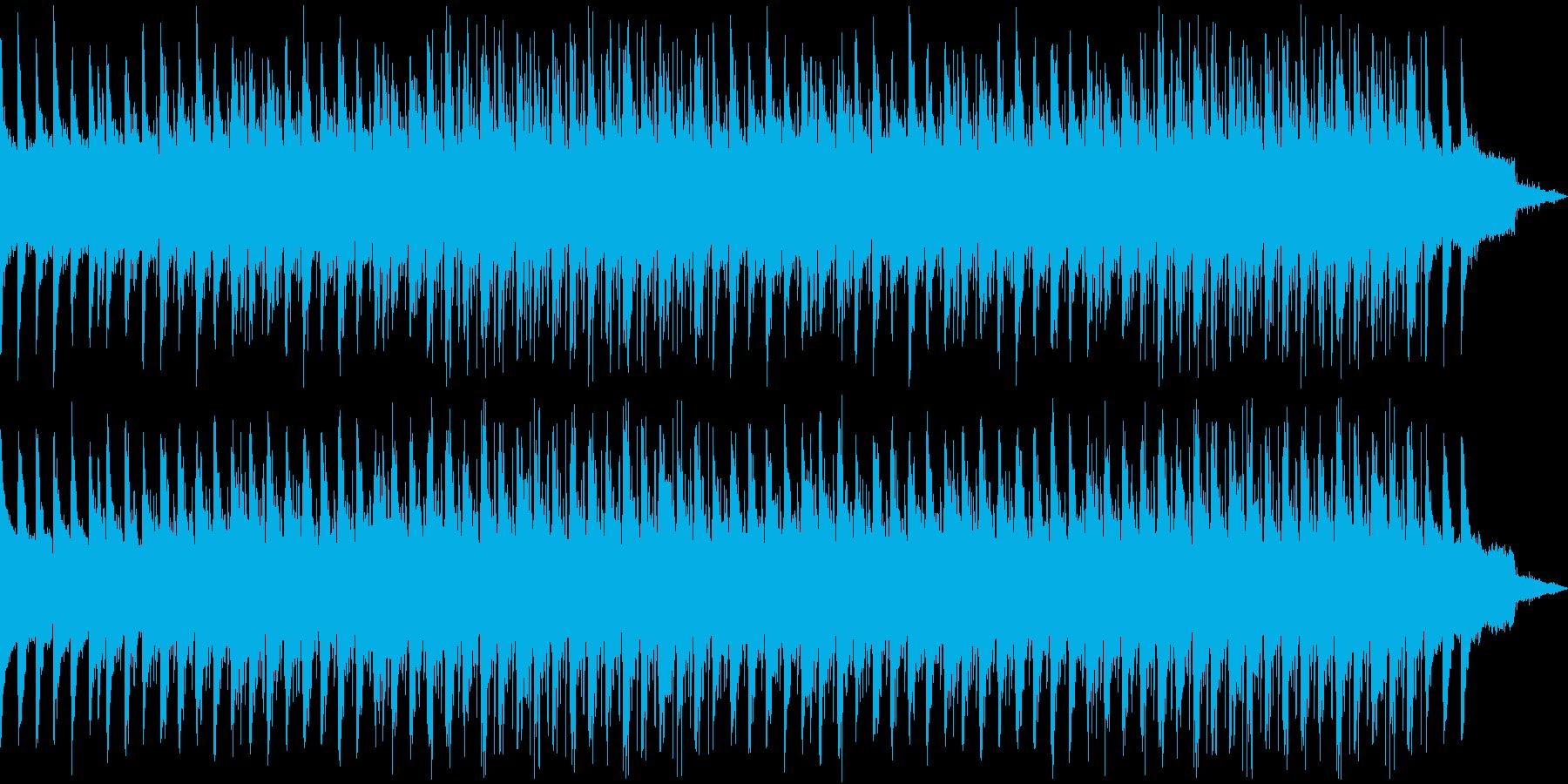 【切ない系】雨音の再生済みの波形
