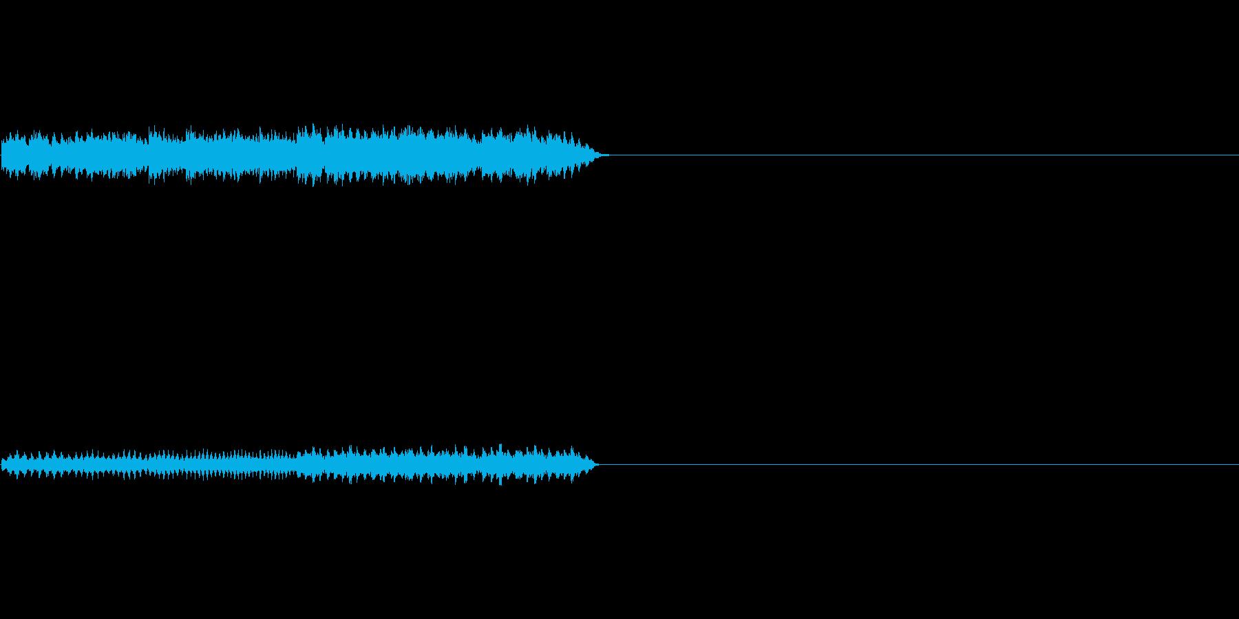 不思議なオルゴールの再生済みの波形