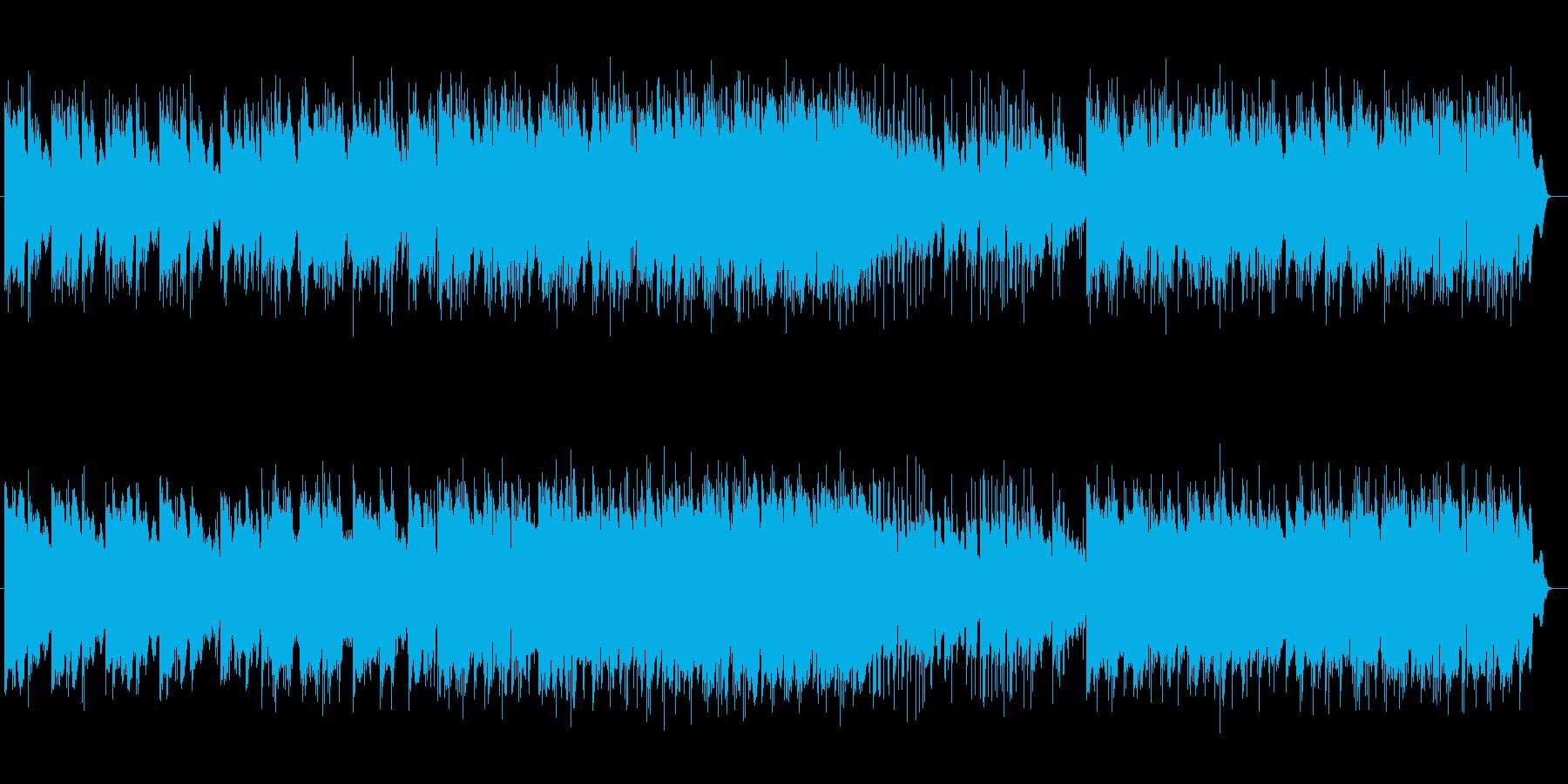 美しく切ないシンセサイザーサウンドの再生済みの波形