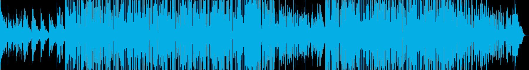 バーで流れるお洒落系スムースジャズ の再生済みの波形