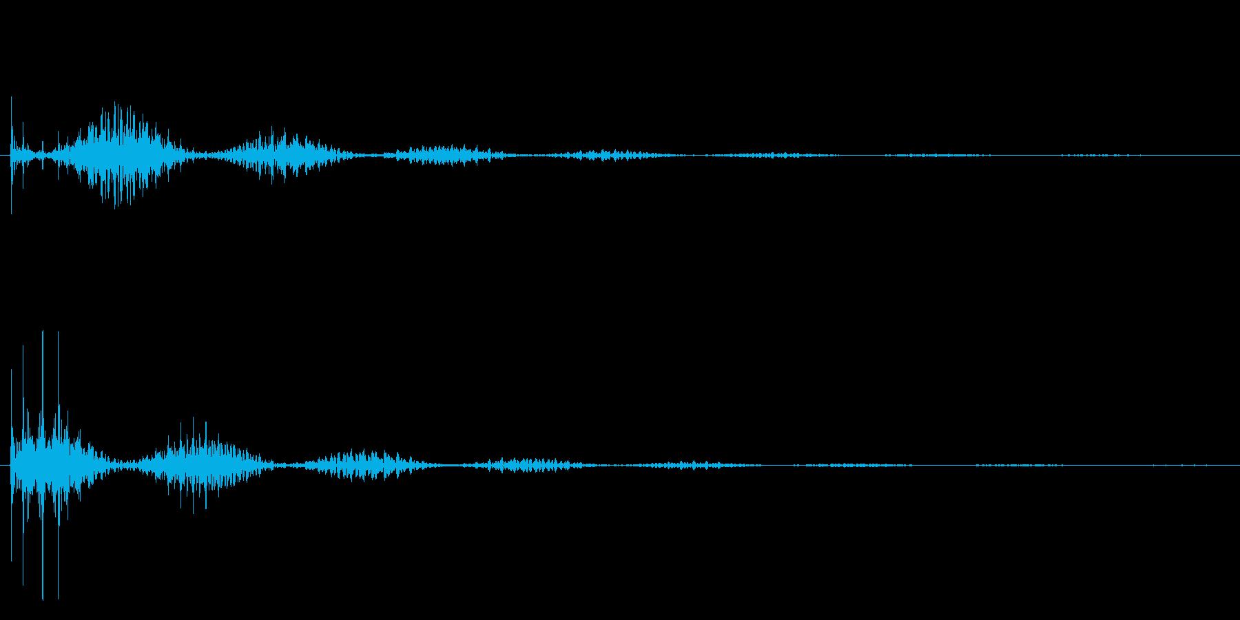 じゃららら~ん→の再生済みの波形
