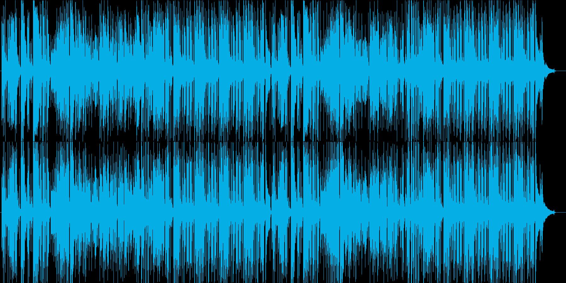 爽やかな夏のリゾート風アコギソロの再生済みの波形