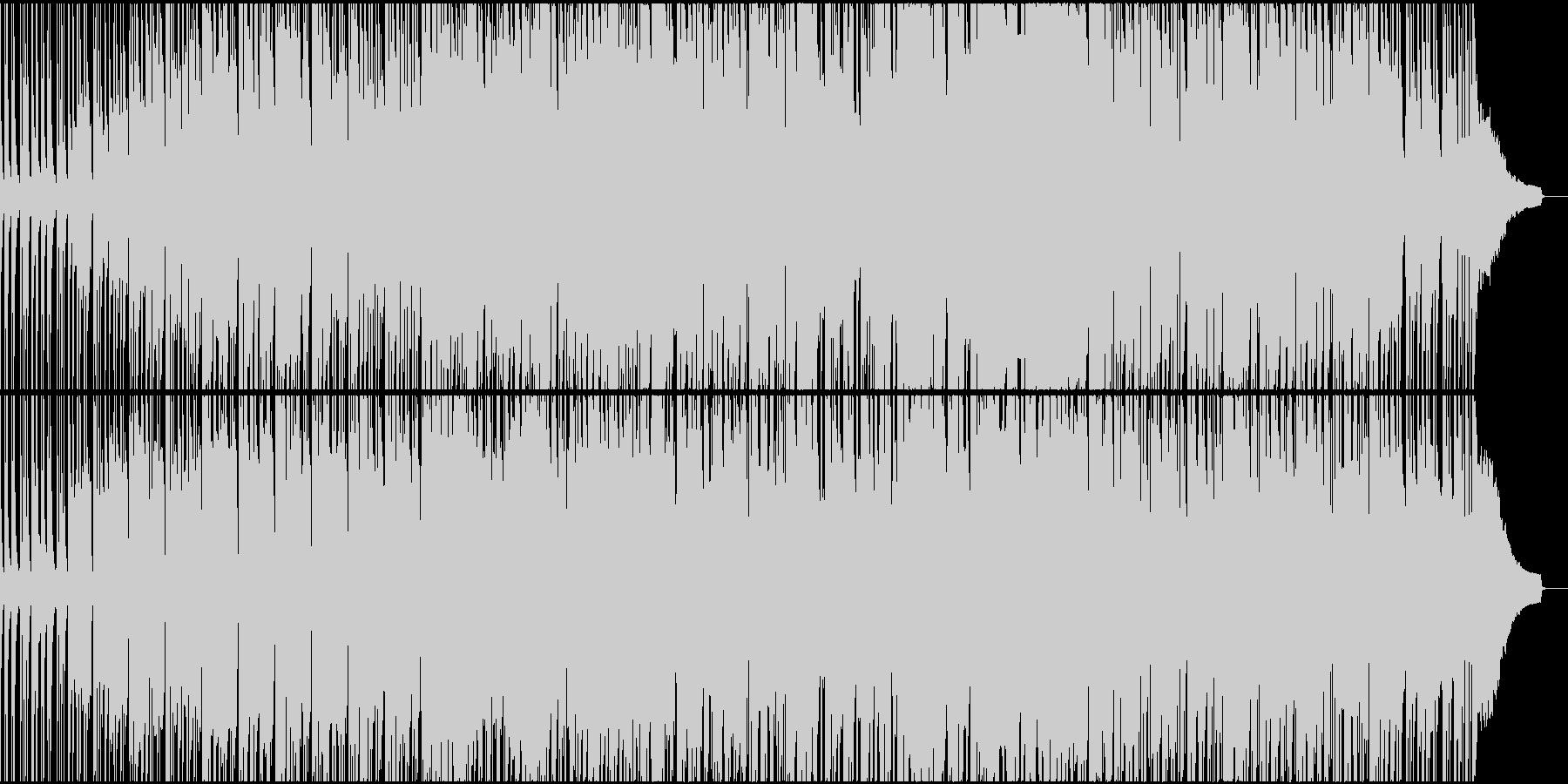 フットルース風エクササイズ曲 80年代の未再生の波形