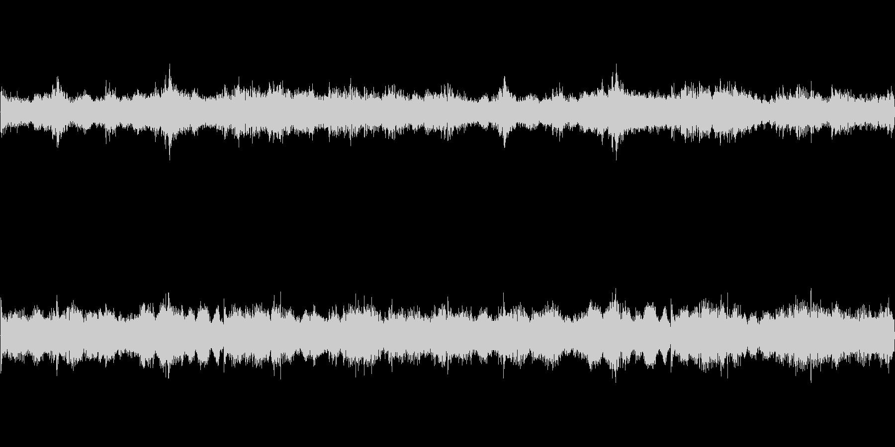 ダークファンタジーなループBGMの未再生の波形