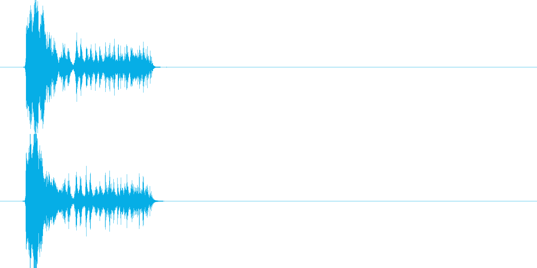 魔法などの再生済みの波形