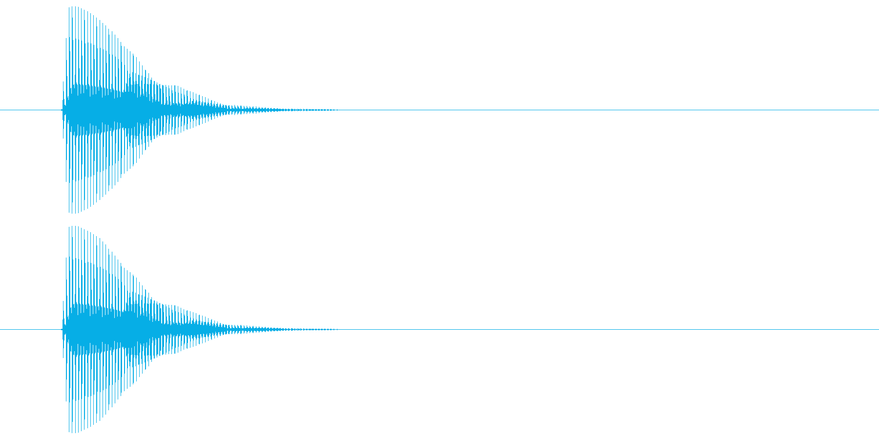 ピッ(カーソル、操作音) 04の再生済みの波形