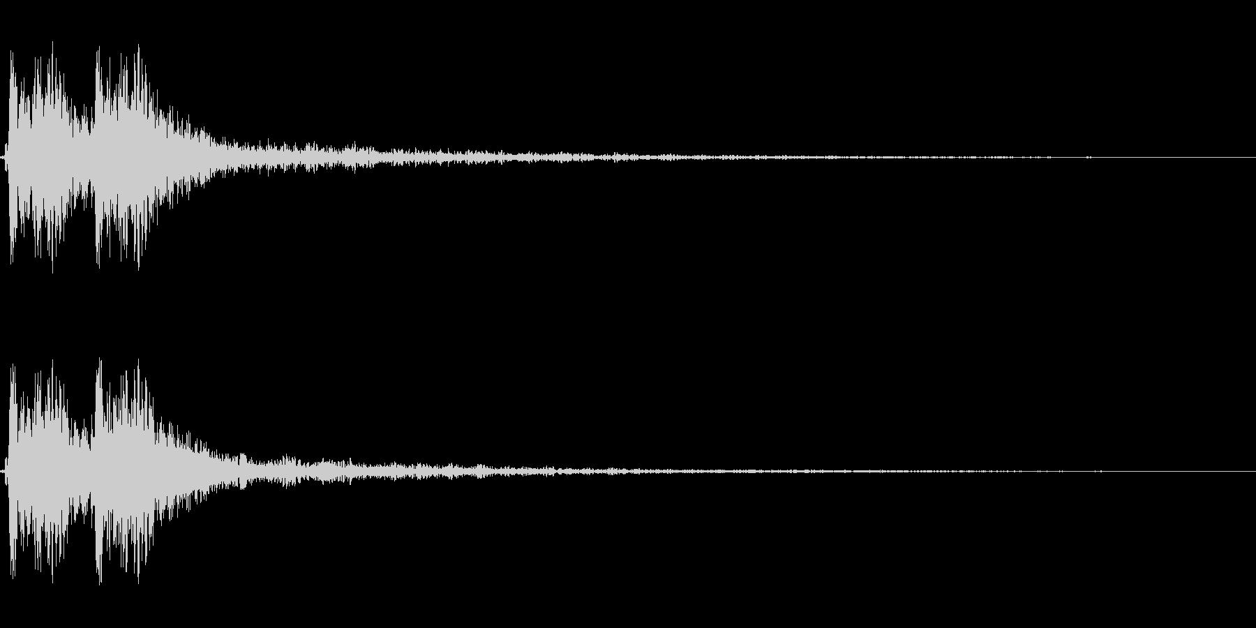 【打撃05-5】の未再生の波形