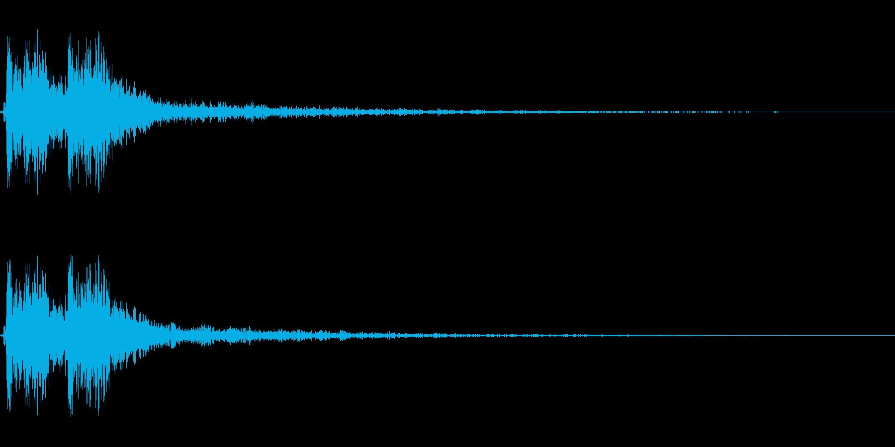 【打撃05-5】の再生済みの波形