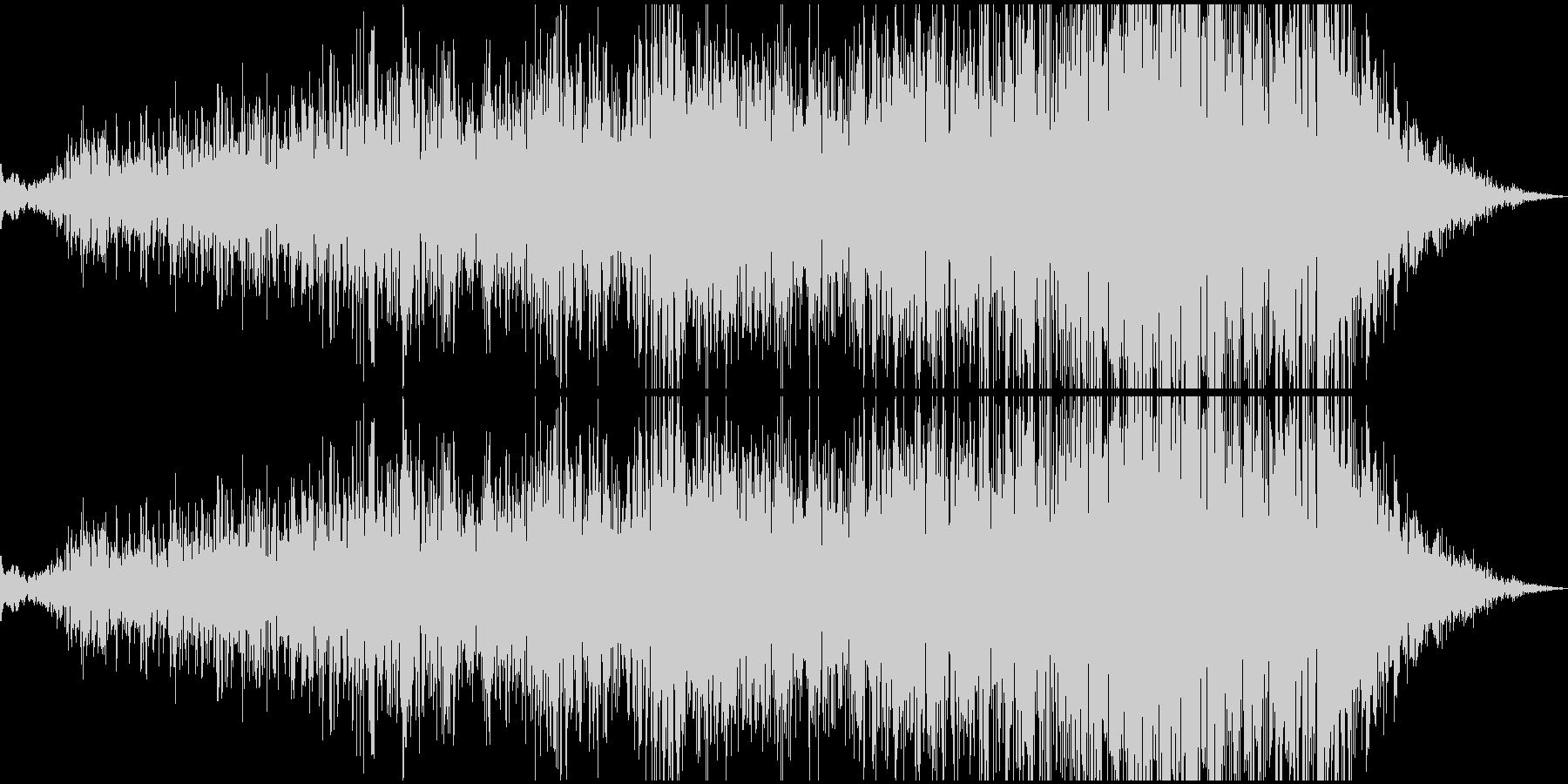 ピアノ一音が深海へ奥深く沈んでいくの未再生の波形