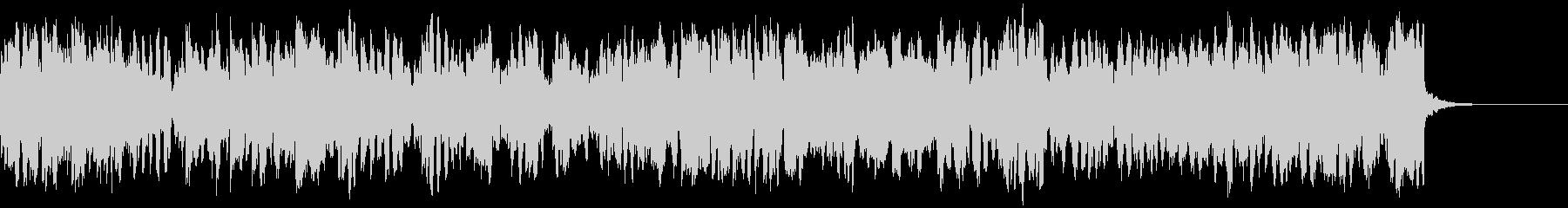 ゴールドベルグ変奏曲木管トリオバージョンの未再生の波形