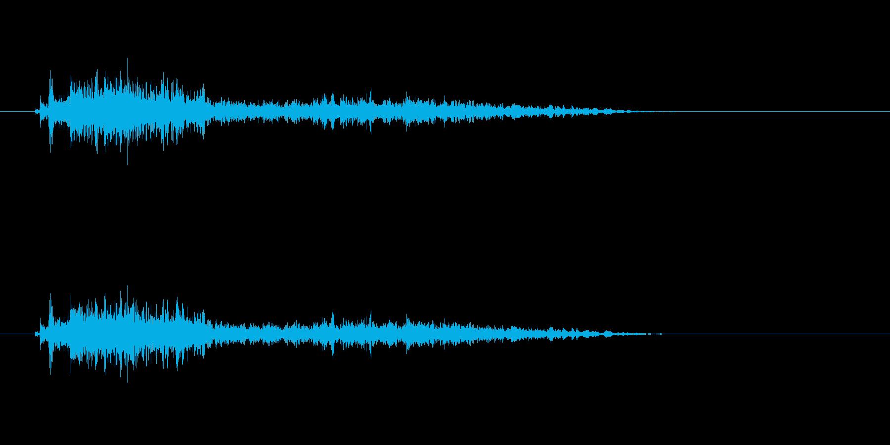 【モンスター01-7】の再生済みの波形